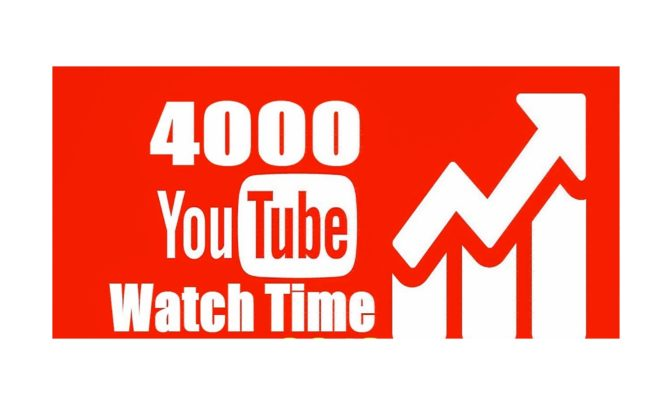 Sign up to be able to buy YouTube watch time in the most organic way possible