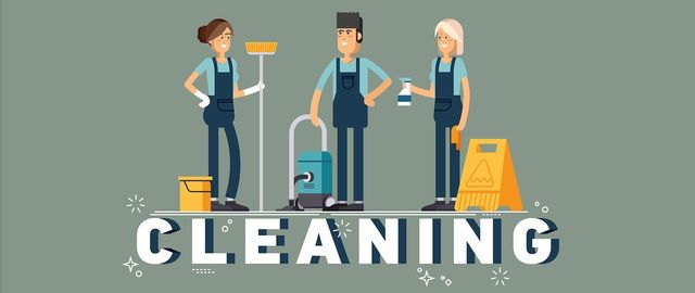 Find out how fast is the work of a cleaning company (entreprise de nettoyage)